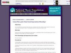 Visual Aural Impressions Lesson Plan