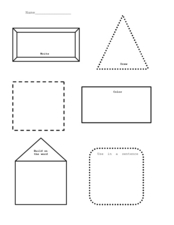 Vocabulary or Spelling Activities Worksheet