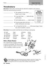 Vocabulary: Yingtao's New Friend Worksheet