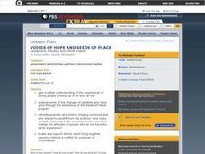 Voices of Hope and Seeds of Peace Lesson Plan