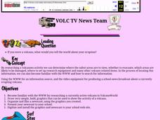 VOLC TV News Team Lesson Plan