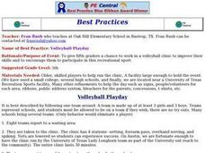 Volleyball Playday Lesson Plan