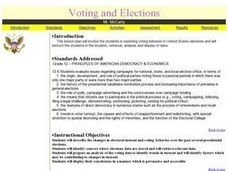Voting And Elections Lesson Plan