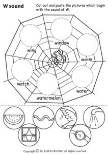 W Sound Worksheet