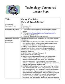 Wacky Web Tales Lesson Plan
