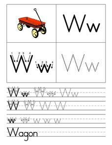 Wagon for Ww Worksheet