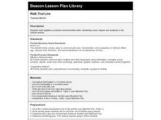 Walk That Line Lesson Plan