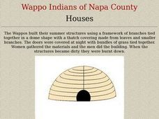 Wappo Houses Lesson Plan