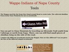 Wappo Tools Lesson Plan