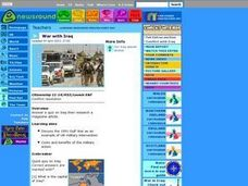 War With Iraq Lesson Plan
