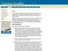 Water Features of Virginia Lesson Plan