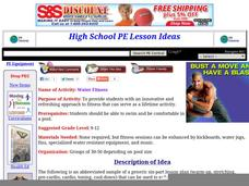 Water Fitness Lesson Plan