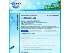 Water Pollution Hot-Spots Lesson Plan