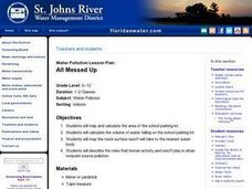 Water Pollution Lesson Plan: All Messed Up Lesson Plan