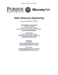 Water Resources Engineering Lesson Plan