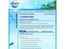 Water Use and Conservation Lesson Plan