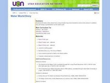 Water World Story Lesson Plan