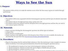 Ways to See the Sun Lesson Plan