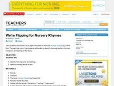 We're Flipping for Nursery Rhymes Lesson Plan