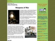 Weapons of War Lesson Plan