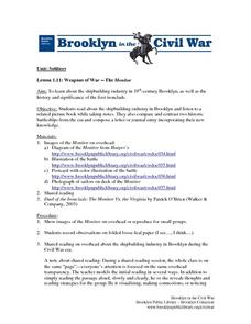 Weapons Of War: The Monitor Lesson Plan