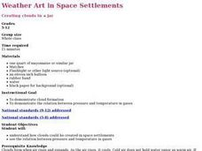 Weather Art in Space Settlements Lesson Plan