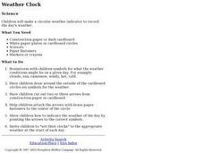 Weather Clock Lesson Plan