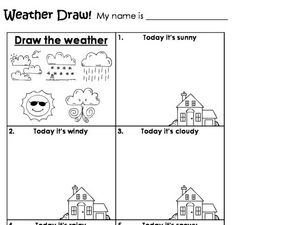 Weather Draw! Worksheet