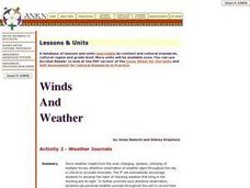 Weather Journals Lesson Plan