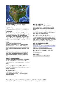 Weather Map Lesson Plan