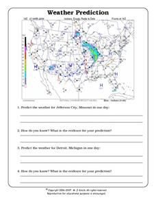 Weather Prediction Worksheet