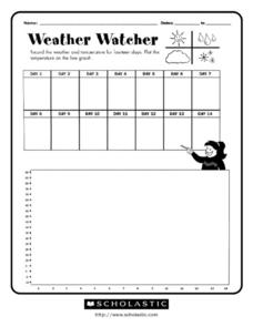 Weather Watcher Worksheet