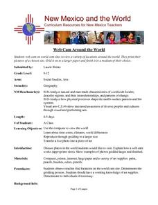 Web Cam Around the World Lesson Plan