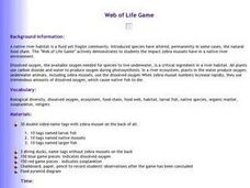 Web of Life Game Lesson Plan