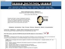 WebQuest 1: Design and Build a Music Technology Lab for Our School Lesson Plan