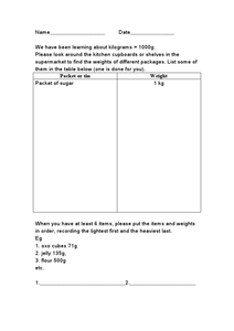 Weight Conversion Homework Worksheet