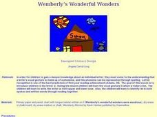 Wemberly's Wonderful Wonders Lesson Plan