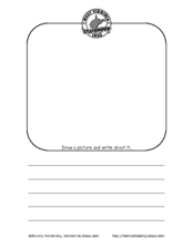 West Virginia: Draw and Write Worksheet
