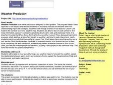 Wether Prediction Lesson Plan