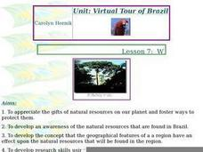 What are Brazil's Natural Resources? Lesson Plan