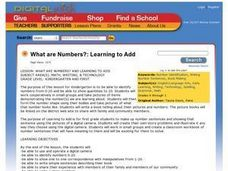What are Numbers?: Learning to Add Lesson Plan