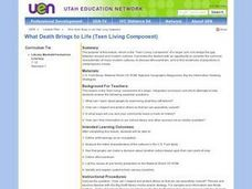 What Death Brings to Life (Teen Living Component) Lesson Plan