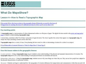 What Do Maps Show? Lesson Plan