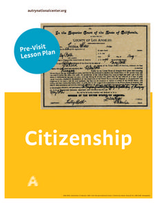 What Does It Mean To Be a Good Citizen? Lesson Plan