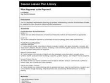 What Happened to the Popcorn? Lesson Plan