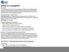 What is a puppet? Lesson Plan