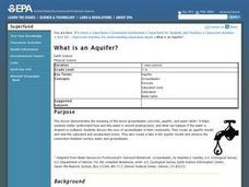 What is an Aquifer? Lesson Plan