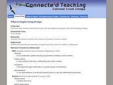 What Is Engineering Design Lesson Plan
