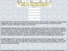 What Is Hyper Studio Lesson Plan