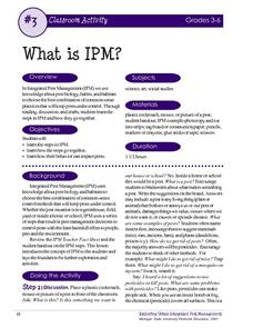 What is IPM? Lesson Plan